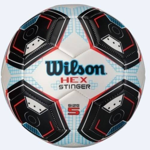 Wilson Hex Stinger Soccer Ball, Size 5 by