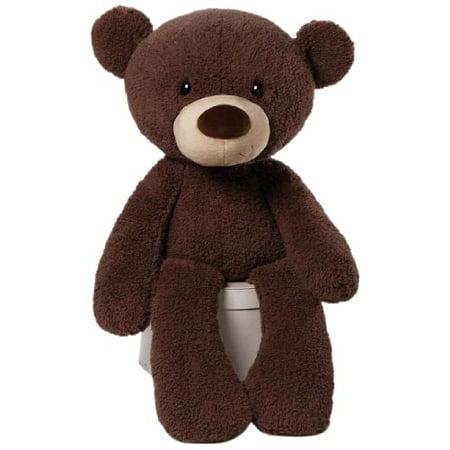 Fuzzy Alligator - GUND Jumbo Fuzzy Teddy Bear Stuffed Animal