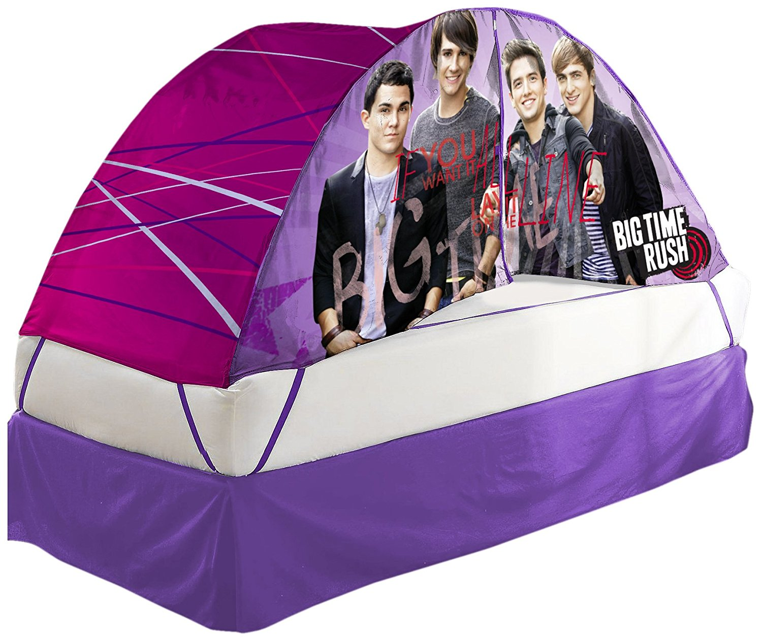 Nickelodeon Big Time Rush Bed Tent with Pushlight Assortment by