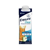 Ensure Clear Therapeutic Nutrition, Apple Flavor, 8 oz Cartons - Pack of 6