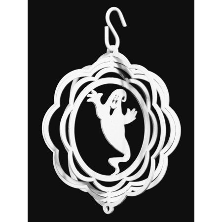 SWEN Products HALLOWEEN GHOST Tini Swirly Christmas Tree Ornament - Halloween Sweet Tree Ideas