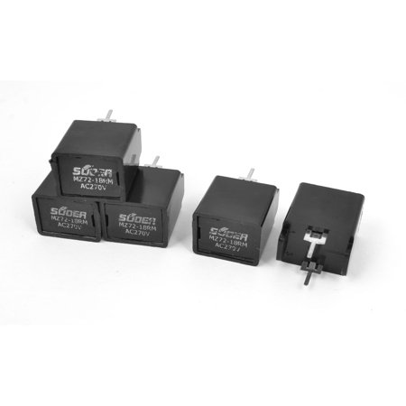 Unique Bargains 5 x TV Degaussing Send Electronic Resistance 18 Ohm  270V (Let The Resistance Of An Electrical Component)