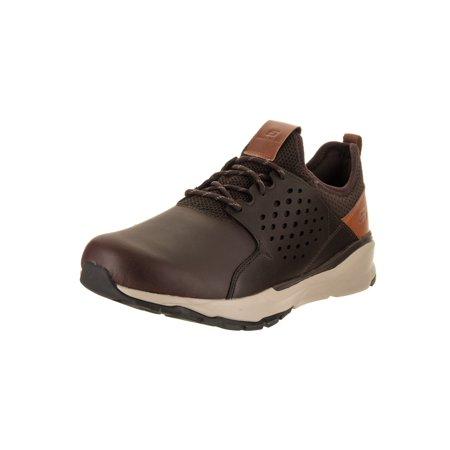 38aaa65a830f Skechers Men s Relven - Hemson - Wide Fit Casual Shoe - Walmart.com