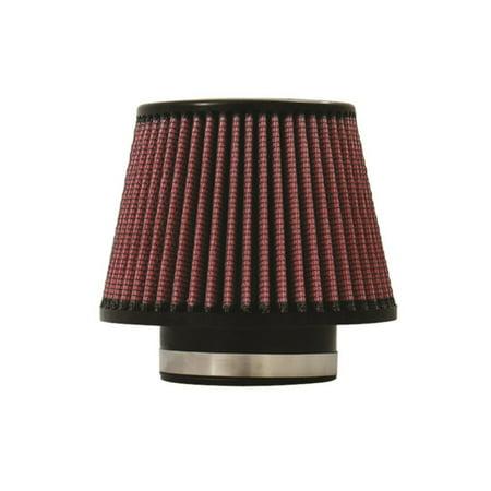 - Injen High Performance Air Filter - 3.50 Black Filter 6 3/4 Base / 5 Tall / 5 Top