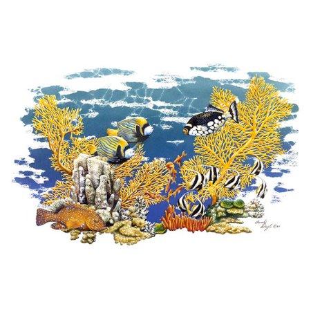 Halloween Revos (Winston Porter 'Barrier Reef' Graphic Art)