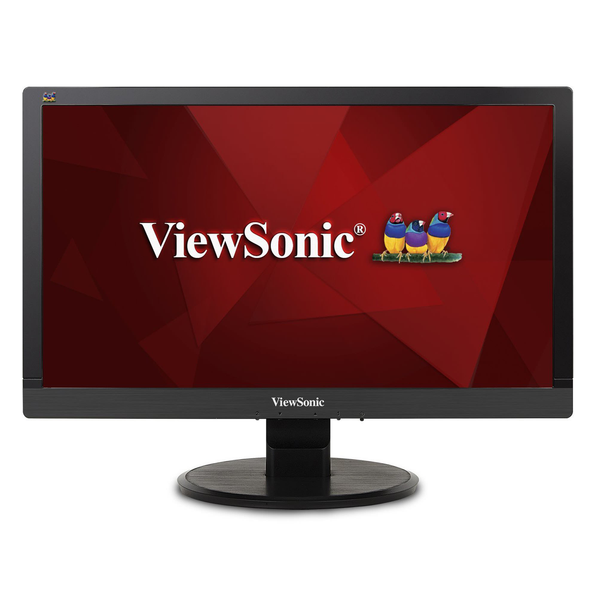 "ViewSonic VA2055SM 20"" (19.5 inch Vis) Widescreen LED Monitor, 1920x1080, 250 nits, 3,000:1 Contrast Ratio, VGA and DVI inputs, integrated speakers"