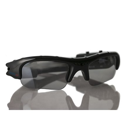 Digital Disguised Polarized Sunglasses Video Recorder w/ 30