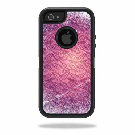 Mightyskins Protective Vinyl Skin Decal Cover for OtterBox Defender iPhone 5/5s/SE Case wrap sticker skins Purple - Purple Swirl