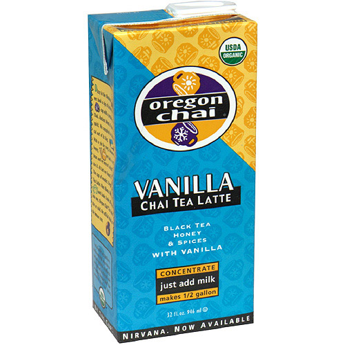 Oregon Chai Vanilla Chai Tea, 32 oz (Pack of 6)
