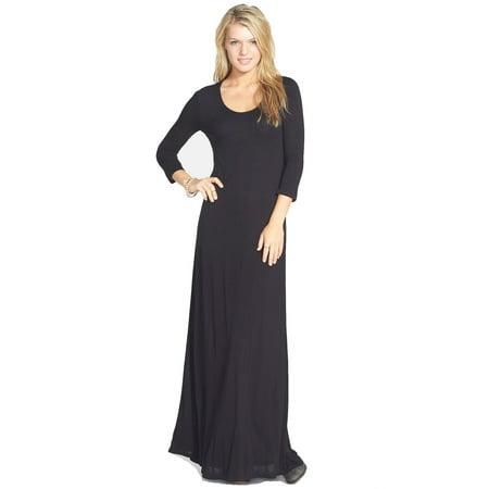d60b3218114a Element - Element Juniors Ira Open Back Lace Maxi Summer Dress (Black,  Small) - Walmart.com