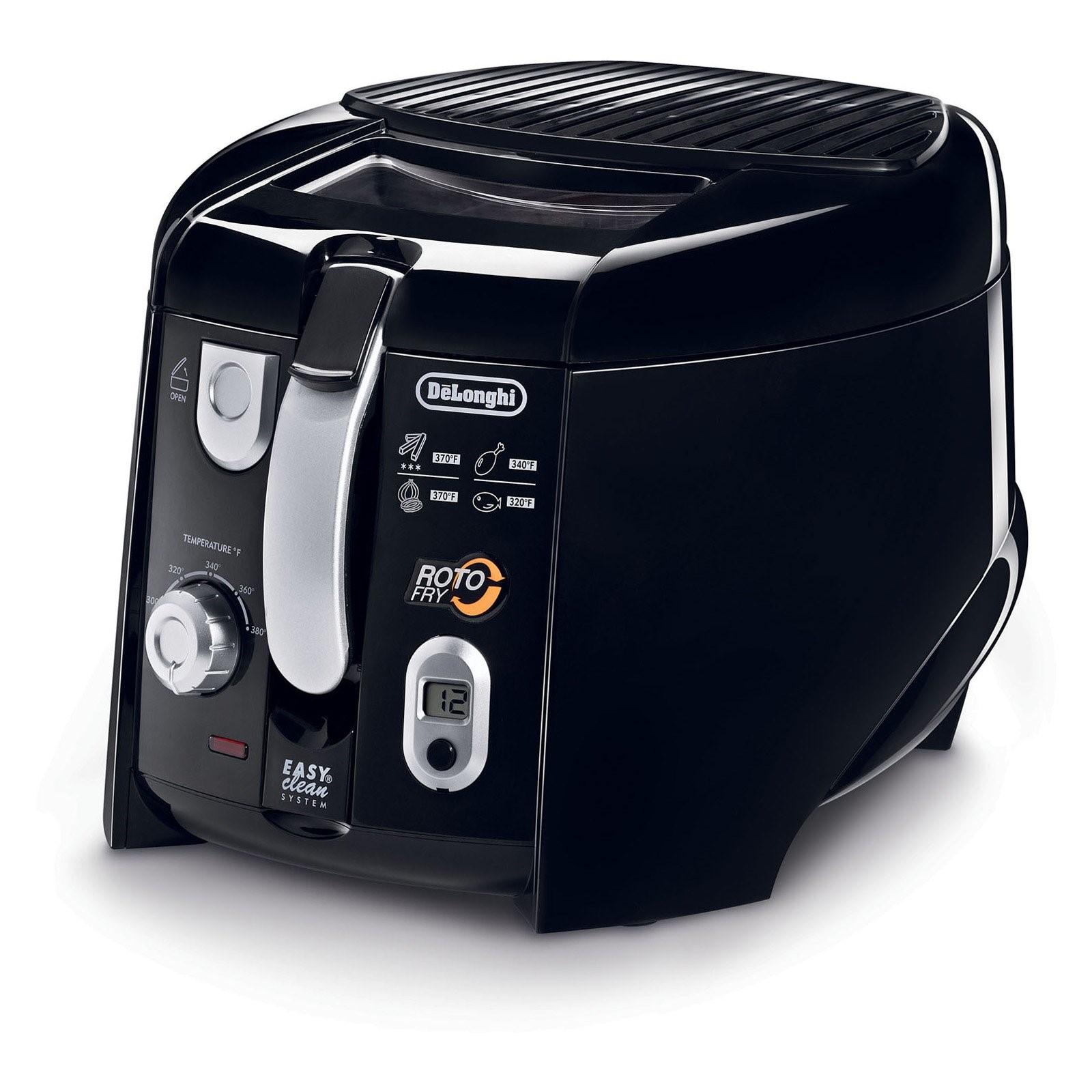 DeLonghi D28313UXBK Cool Touch Roto Deep Fryer