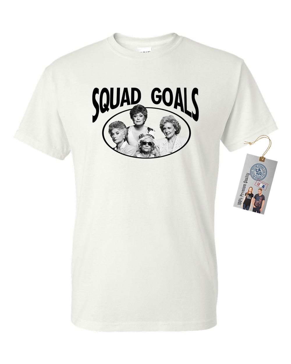 Golden Girls TV Show Squad Goals Mens Short Sleeve Shirt