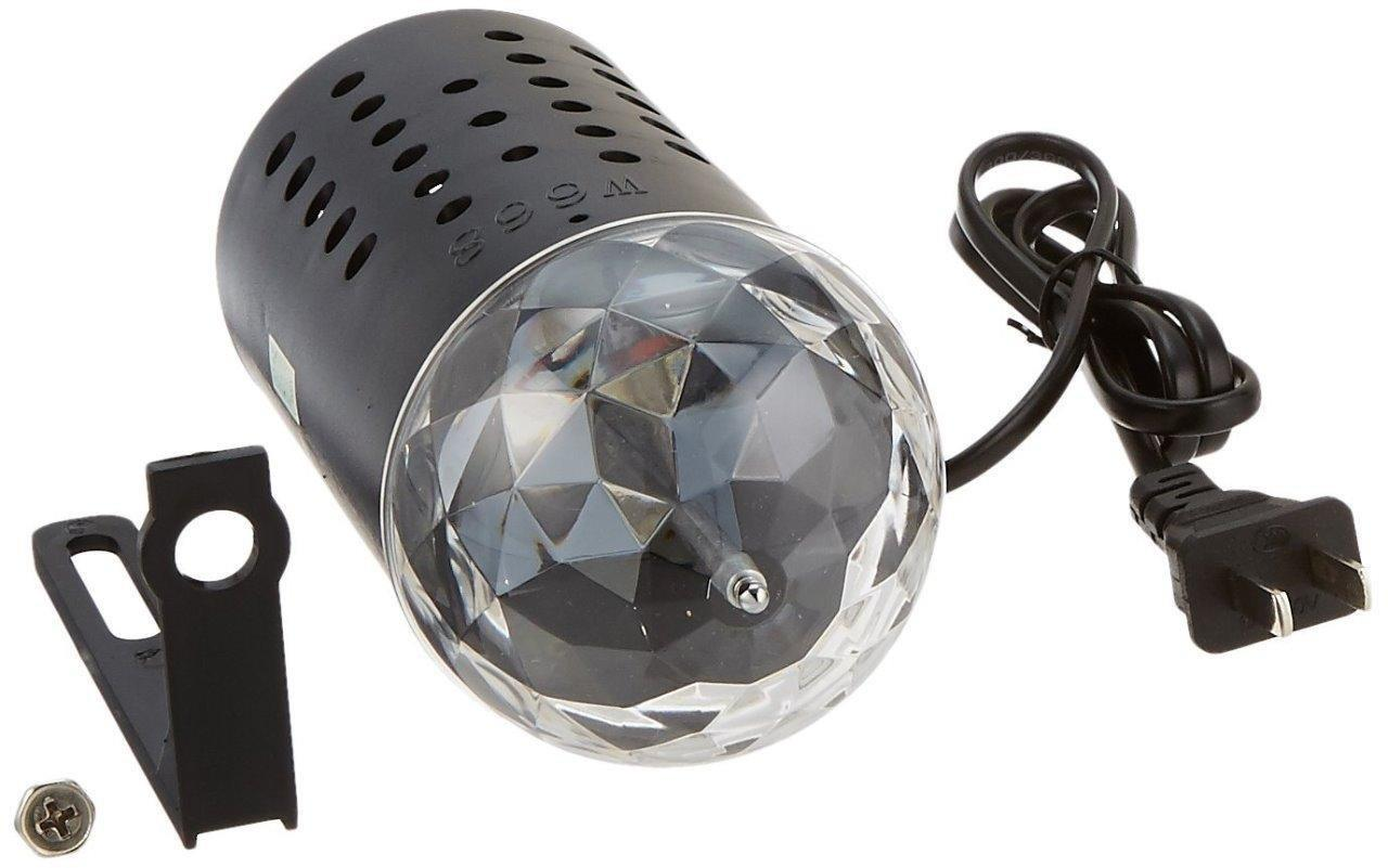 Lightahead Rotating LED Crystal Stage Light Multi Color Changing Disco Party Light by Supplier Generic