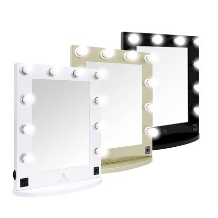 plug in vanity mirror. Vanity Mirror with 10 Dimmable Bulbs and US Plug Hollywood Style Makeup  Cosmetic Mirrors Lights