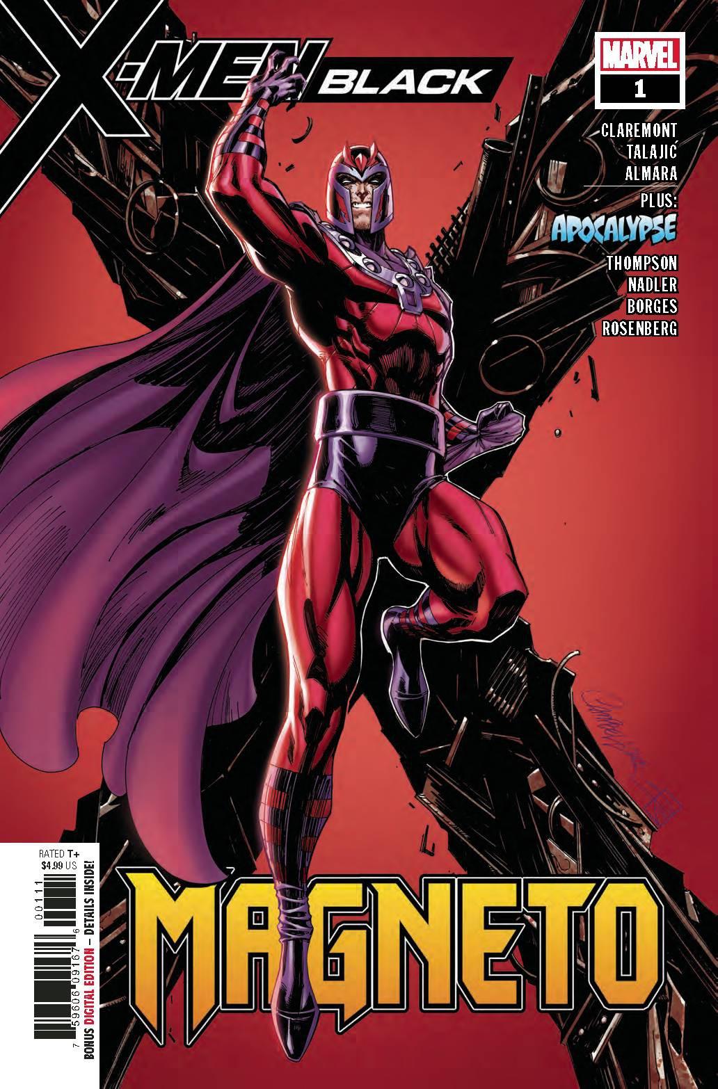 Marvel X-Men Black #1 Magneto by