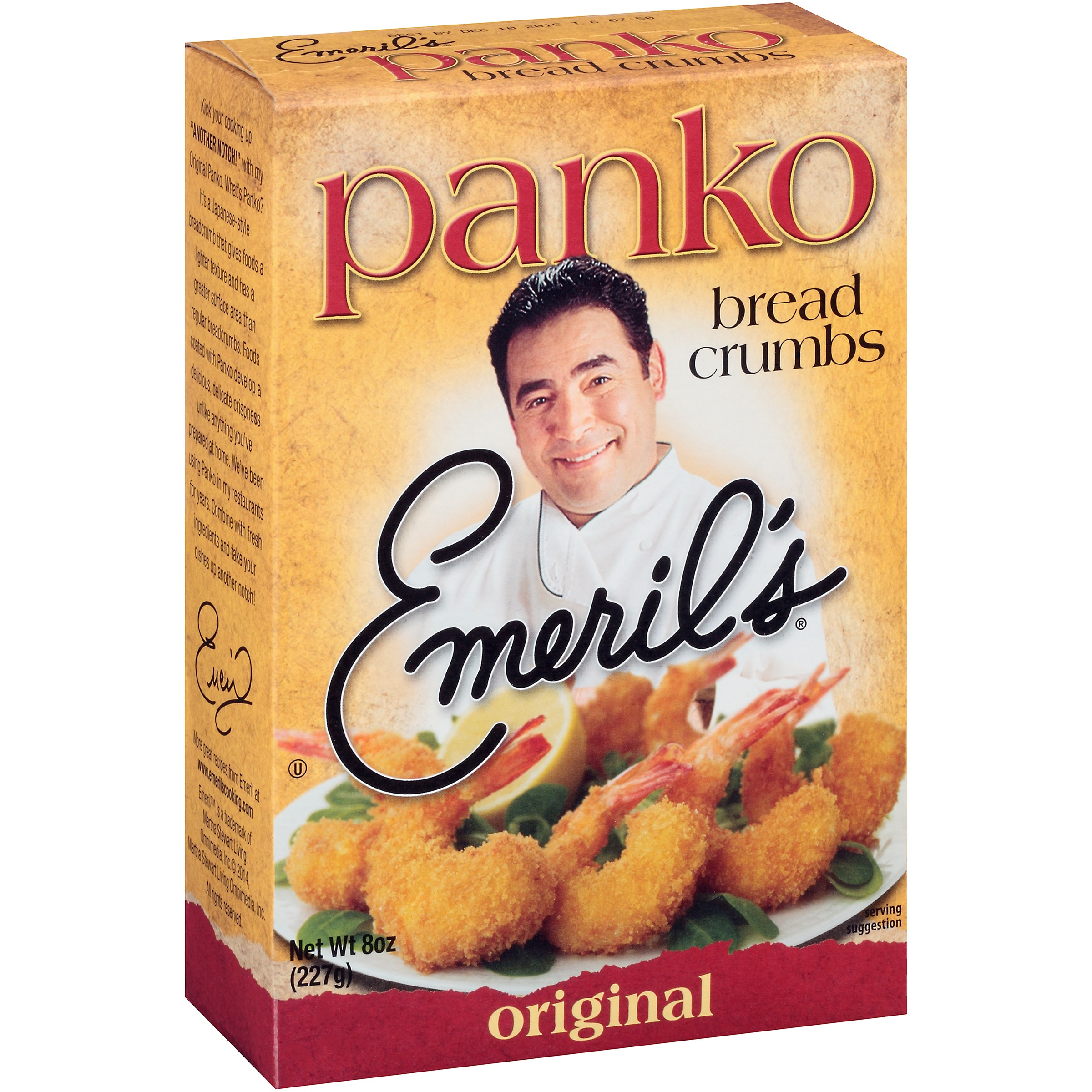 Emeril's® Original Panko Bread Crumbs 8 oz. Box