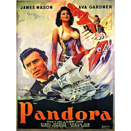 Pandora and the Flying Dutchman POSTER Movie Mini Promo