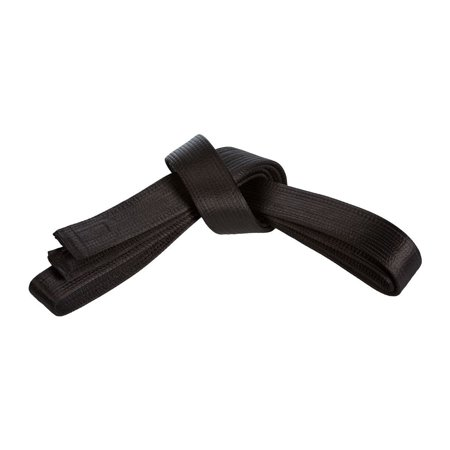 Century Double Wrap Satin 2 inch Black Belt (Satin Black Belt)