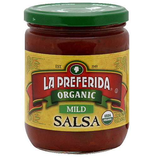 La Preferida Mild Organic Salsa, 16 oz (Pack of 12)