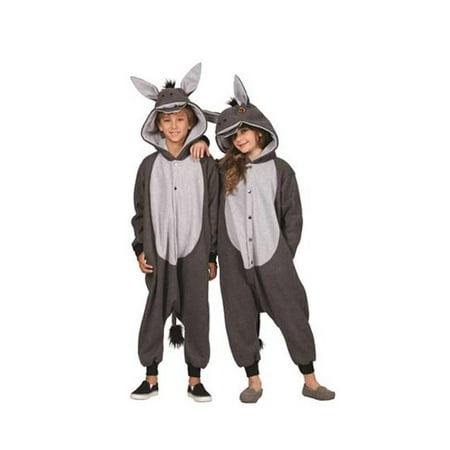 100 Acres Donkey Child Funsie Costume Dress - Large