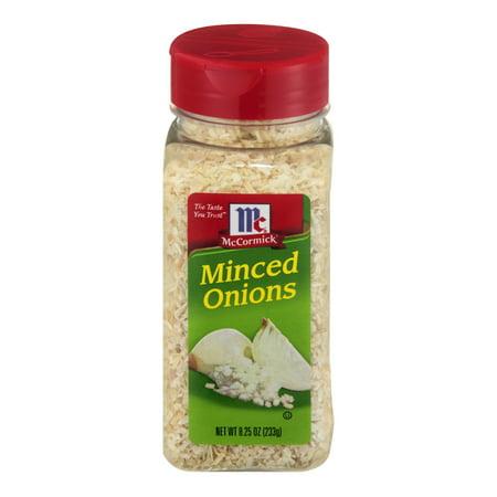 Mccormick Minced Onions  8 25 Oz