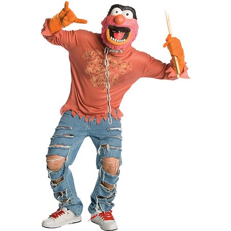 Animal Muppets Adult Halloween Costume, Size: Men's - One Size