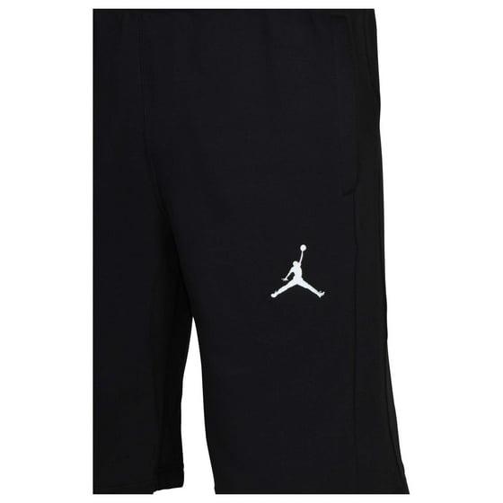 1b56956f4bf4 Jordan Men s Nike Flight Fleece Jumpman Shorts-Black-Small - Walmart.com