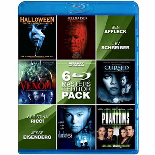 Masters Of Terror, Vol. 2: Halloween: Curse Of Michael Myers / Hellraiser: Hellseeker / Darkness / Phantoms / Venom / Cursed (Blu-ray) (Widescreen)