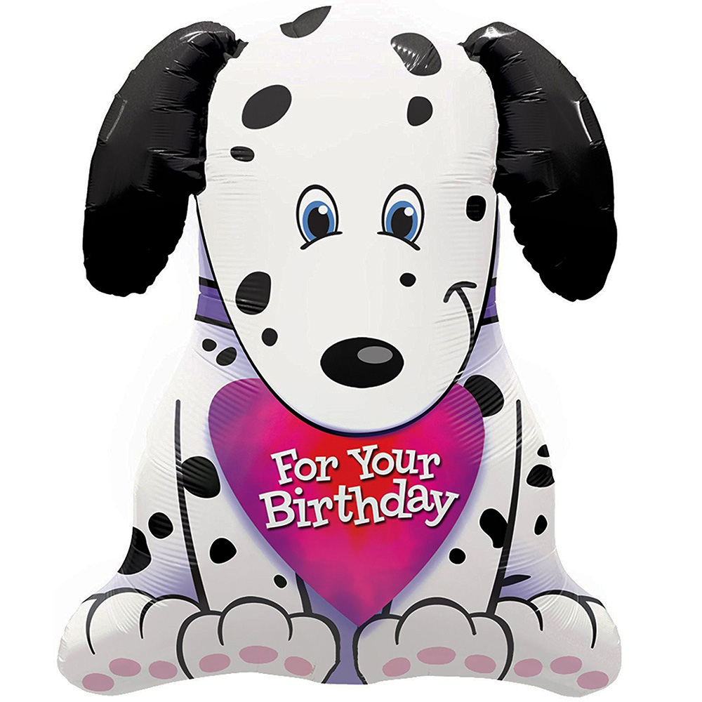 Puppy For Your Birthday Super Shape Foil Balloon 31""