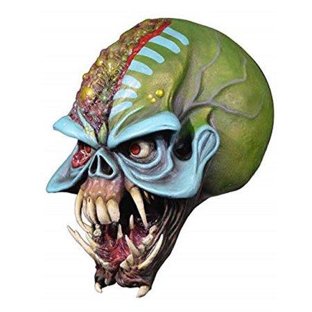 Iron Maiden Final Frontier Eddie Adult Mask Trick Or Treat Studios](Eddie Munster Mask)
