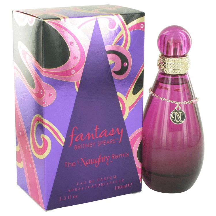 Fantasy The Naughty Remix by Britney Spears Eau De Parfum Spray 3.3 oz Pack of 2