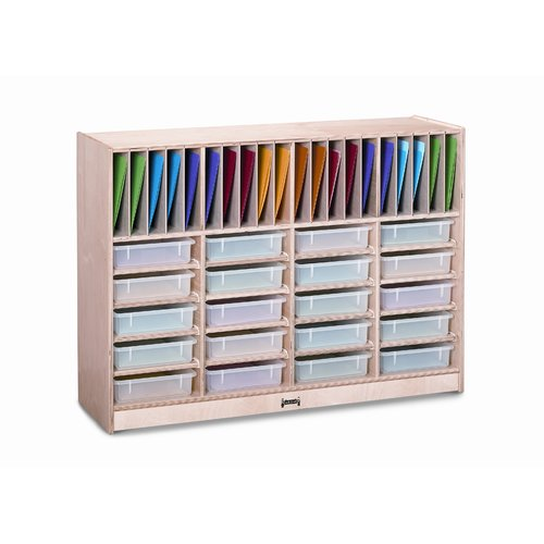 Jonti-Craft Homework Station 40 Compartment Cubby