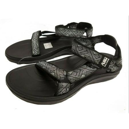 d663ca96e538 Air Balance Men s River Water Sandal(Black   Gray
