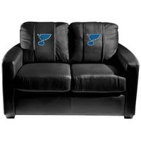 St. Louis Blues NHL Silver Love Seat