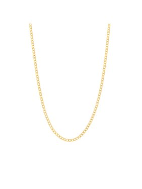 Jewelers 14K Solid Gold Cuban 24 inch Chain Necklace BOXED