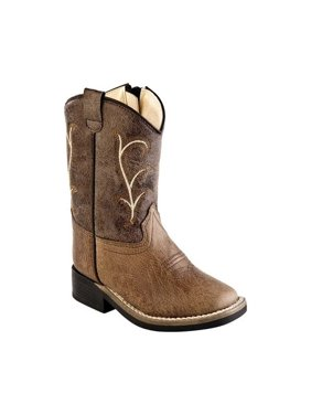 Infant Old West Broad Western Square Toe Boot - Toddler