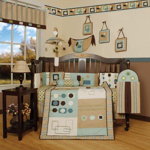 Geenny Boutique Baby Artist 13 Piece Crib Bedding Set