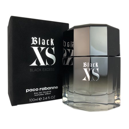 Paco Rabanne Black XS Eau de Toilette Spray, 3.4 Oz