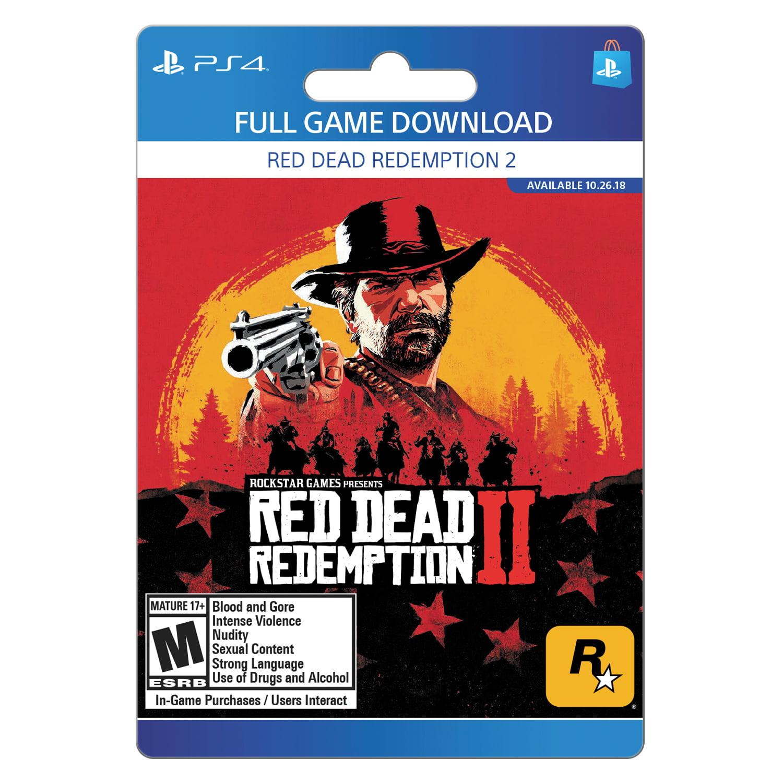 Red Dead Redemption 2, Rockstar Games, Playstation, [Digital Download]