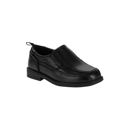 Wonder Nation Boys' Slip On Dress Shoe (Best Dress Shoes For Feet With Bunions)