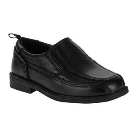 Wonder Nation Boys' Slip On Dress Shoe (Size 5 Big Boys Shoes)
