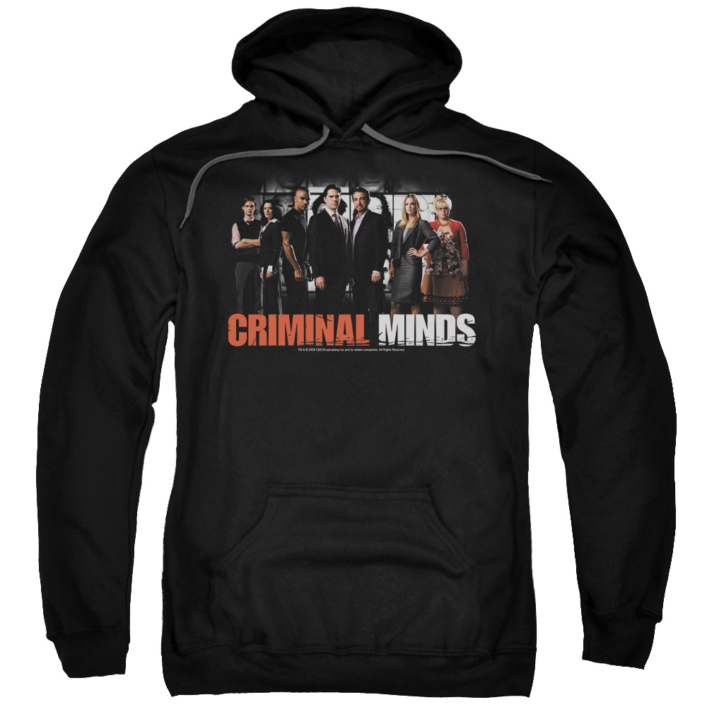 Criminal Minds The Brain Trust Mens Pullover Hoodie