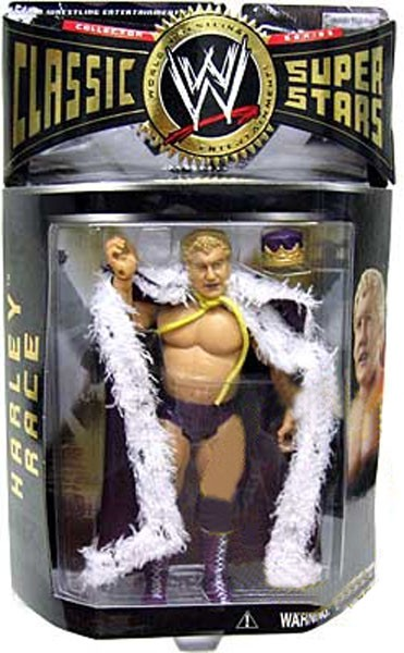 WWE Wrestling Classic Superstars Series 7 Harley Race Action Figure by