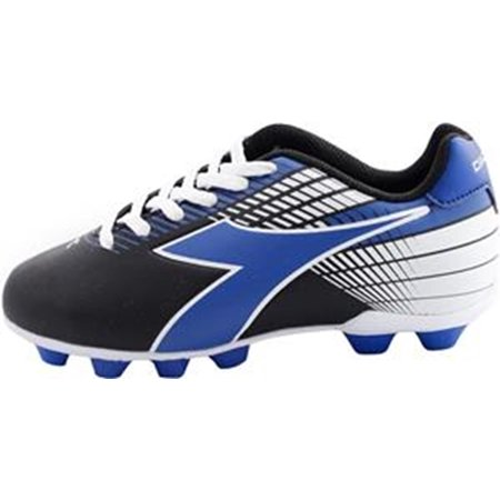 Diadora Kid's Ladro MD JR Athletic Soccer Cleats Black Polyurethane 8.5 Toddler (Football Soccer Boots Cleats)