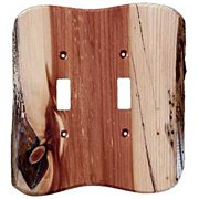 Sierra Lifestyles Rustic - 2 Toggle Unfinished - Juniper