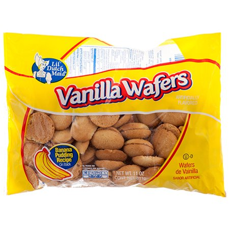 New Oreo Wafer (New 301361  Ldm Vanilla Wafer Bag 11 Oz (12-Pack) Cookies Cheap Wholesale Discount Bulk Snacks Cookies Fashion)