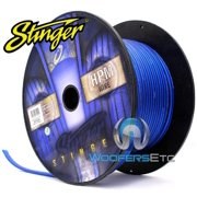 Stinger SHW512B250 12 Gauge Matte Blue 250 Feet Power Audio Cable