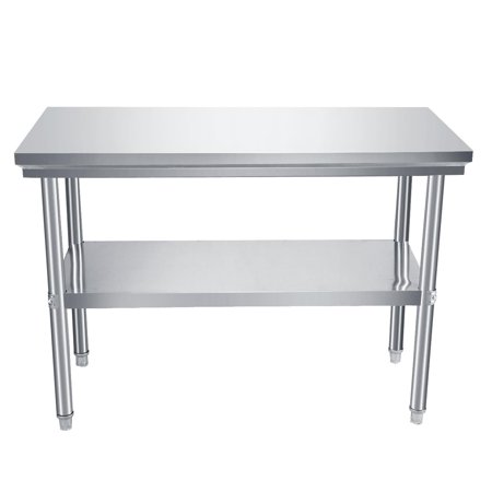 Beamnova Stainless Steel Commercial Kitchen Prep Work Table 48 ...