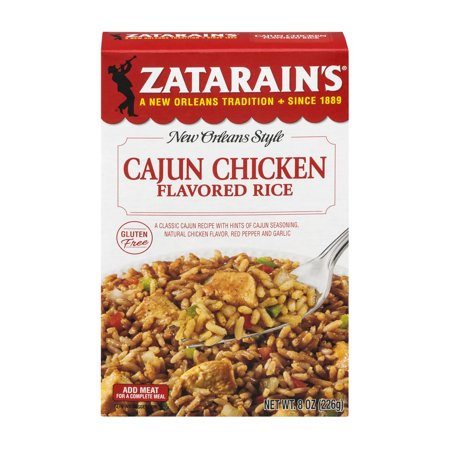 Zatarains New Orleans Style Cajun Chicken Flavored Rice  8 0 Oz