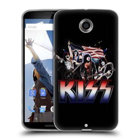 OFFICIAL KISS BAND POSTERS SOFT GEL CASE FOR MOTOROLA PHONES